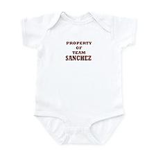 Property of team Sanchez Infant Bodysuit