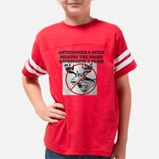 Anticrombie and Ditch Youth Football Shirt
