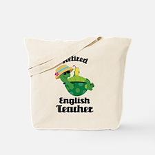 Retired English Teacher Gift Tote Bag