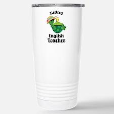Retired English Teacher Gift Travel Mug