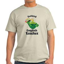 Retired English Teacher Gift T-Shirt