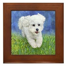 Cute Animals Framed Tile