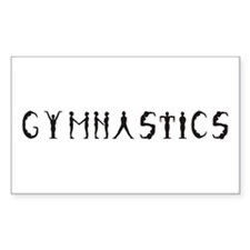 Gymnastics Rectangle Decal