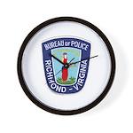 Richmond Police Wall Clock