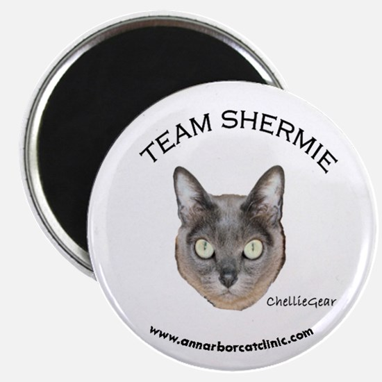 """Team Shermie"" Magnet"