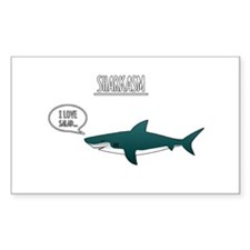 Sharkasm Decal