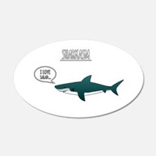 Sharkasm Wall Decal