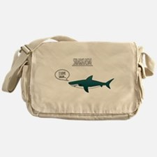 Sharkasm Messenger Bag