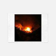 Millville fire 2013 2 5'x7'Area Rug