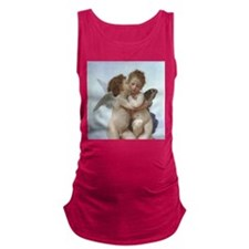 Funny Psych Maternity Tank Top
