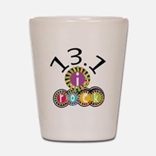 13.1 I Rock Shot Glass