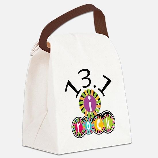 13.1 I Rock Canvas Lunch Bag