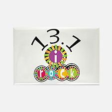 13.1 I Rock Rectangle Magnet