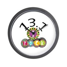13.1 I Rock Wall Clock