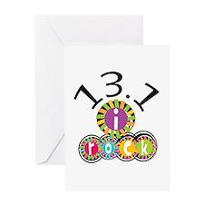 13.1 I Rock Greeting Card