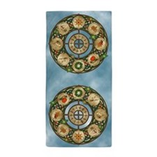 Celtic Wheel of the Year Beach Towel