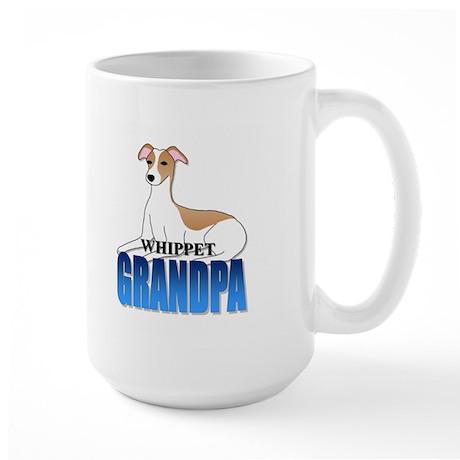 Whippet Grandpa Large Mug