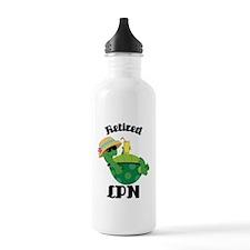 Retired LPN Gift Water Bottle