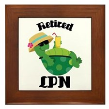 Retired LPN Gift Framed Tile
