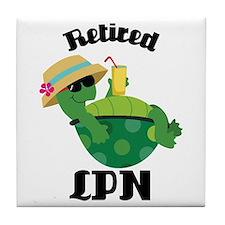 Retired LPN Gift Tile Coaster