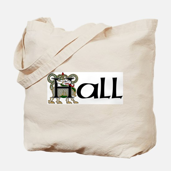 Hall Celtic Dragon Tote Bag