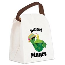 Retired Mayor Gift Canvas Lunch Bag
