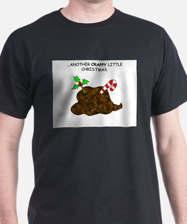 Holly Christmas Poop T-Shirt