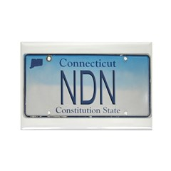 Connecticut NDN Pride Rectangle Magnet (100 pack)