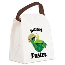 Retired Pastor Gift Canvas Lunch Bag
