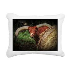 Watusi Rectangular Canvas Pillow