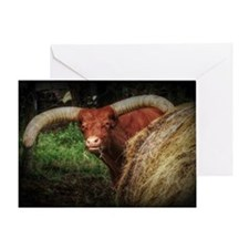 Watusi Greeting Card