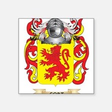 Cort Coat of Arms Sticker