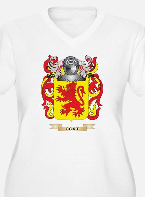 Cort Coat of Arms Plus Size T-Shirt