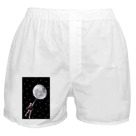 Lasso the Moon Boxer Shorts