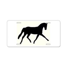Dressage Aluminum License Plate