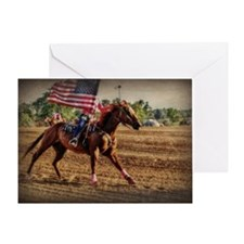 Rodeo USA Greeting Card