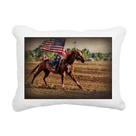Rodeo USA Rectangular Canvas Pillow