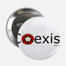 "Coexist, Henry VII-style 2.25"" Button"