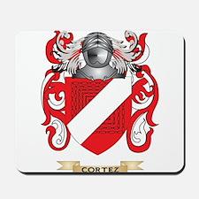 Cortez Coat of Arms Mousepad