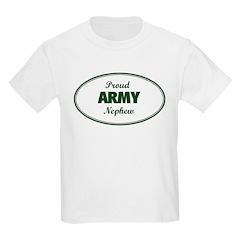 Proud Army Nephew Kids T-Shirt