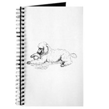 Playful Poodle Journal