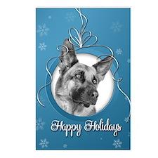 Elegant German Shepherd Postcards (Package of 8)