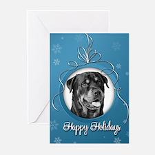 Elegant Rottweiler Holiday Cards (Pk of 20)