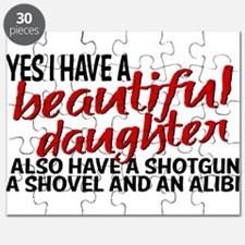 Shotgun, Shovel & an Alibi Puzzle
