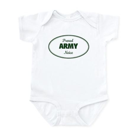 Proud Army Neice Infant Bodysuit