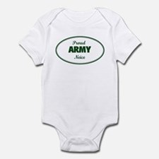 Proud Army Neice Infant Bodysuit