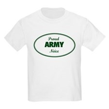 Proud Army Neice Kids T-Shirt
