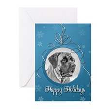 Elegant Mastiff Holiday Cards (Pk of 20)