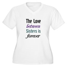 Sisters Forever Plus Size T-Shirt