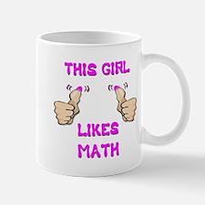 This Girl Likes Math Mug